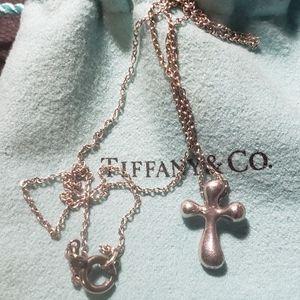 T&CO cross necklace